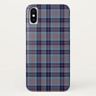 Capa Para iPhone X Tartan do distrito de Loch Ness
