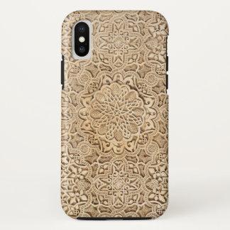 Capa Para iPhone X Teste padrão de Alhambra