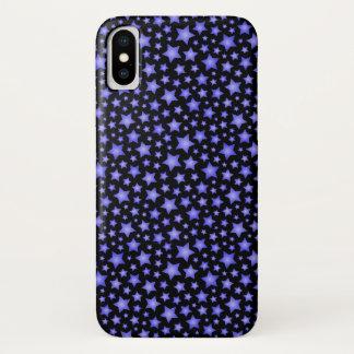 Capa Para iPhone X Teste padrão de estrela