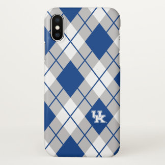 Capa Para iPhone X Teste padrão de Kentucky | Kentucky Argyle