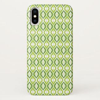 Capa Para iPhone X Teste padrão marroquino do estilo