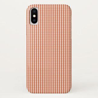 Capa Para iPhone X Teste padrão vermelho