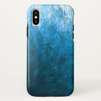 Capa Para iPhone X Texture1 cianos - Caso do iPhone X de Apple