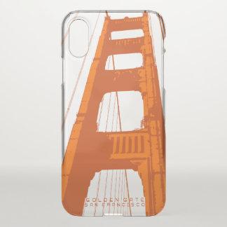 Capa Para iPhone X Torre de golden gate bridge