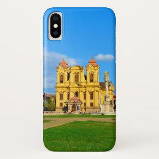 Capa Para iPhone X Touris do viagem da arquitetura do marco da