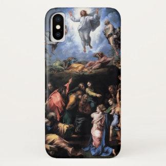 Capa Para iPhone X TRANSFIGURAÇÃO do monograma de JESUS