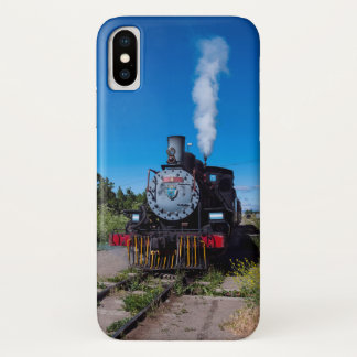 Capa Para iPhone X Trem do vapor no La Trochita