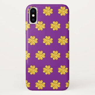 Capa Para iPhone X Trevos dourados surpreendentes