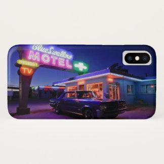 Capa Para iPhone X Tucumcari, New mexico, os Estados Unidos. Rota 66