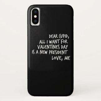 Capa Para iPhone X Tudo que eu quero para o dia dos namorados é um