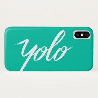 Capa Para iPhone X Turquesa de YOLO
