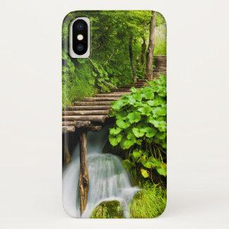 Capa Para iPhone X Uma caminhada nas madeiras