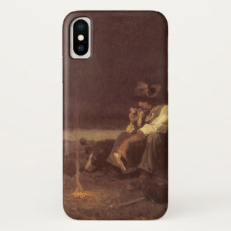 Capa Para iPhone X Vaqueiros ocidentais do vintage, pastor das