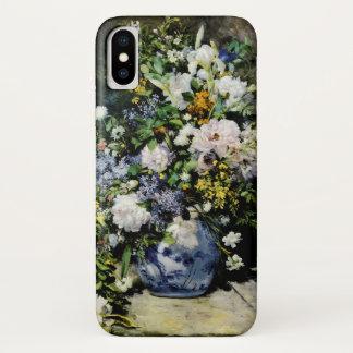 Capa Para iPhone X Vaso das flores