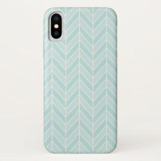 Capa Para iPhone X viga do azul de turquesa
