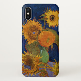 Capa Para iPhone X Vincent van Gogh seis belas artes de GalleryHD dos
