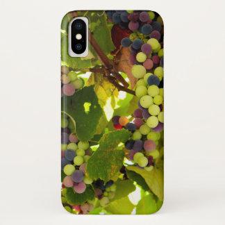 Capa Para iPhone X Vinho crescente