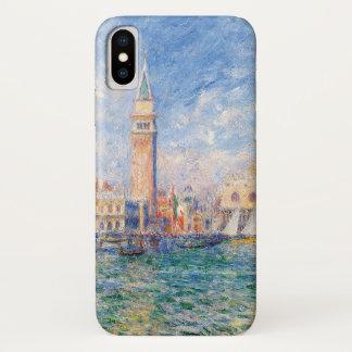 Capa Para iPhone X Vista de Veneza por Renoir