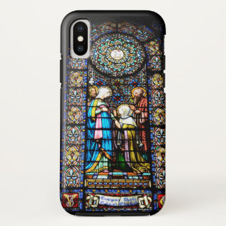 Capa Para iPhone X Vitral no exemplo de Montserrat