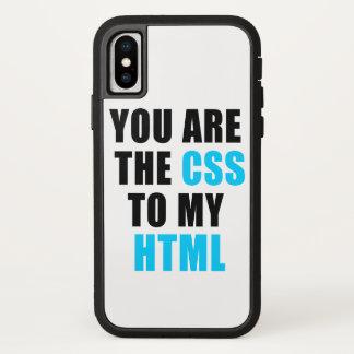 Capa Para iPhone X Você é o CSS a meu HTML