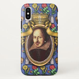 Capa Para iPhone X William Shakespeare