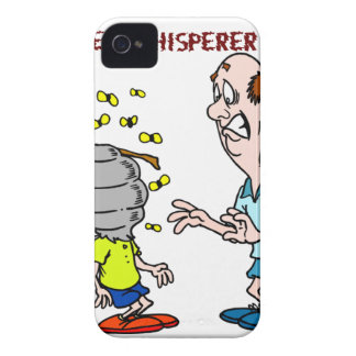 Capa Para iPhone Zangão do Whisperer da abelha dos amantes das