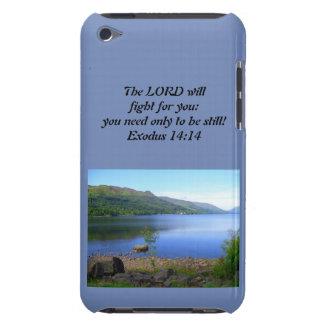 Capa Para iPod Touch 14:14 do êxodo do caso de Iphone cristão ou de