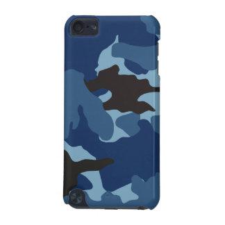 Capa Para iPod Touch 5G As forças armadas azuis viris de Camo camuflam o