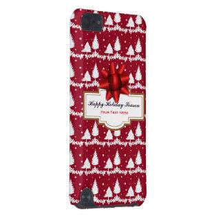 Capa Para iPod Touch 5G Azevinho e neve vermelhos dos pinheiros