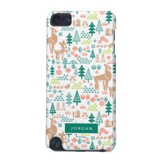 Capa Para iPod Touch 5G Bambi e o teste padrão | dos amigos da floresta