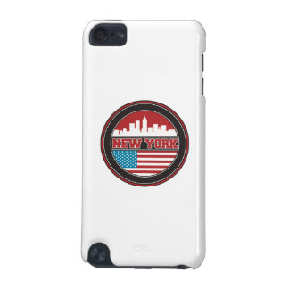 Capa Para iPod Touch 5G Bandeira dos Estados Unidos da skyline | de New