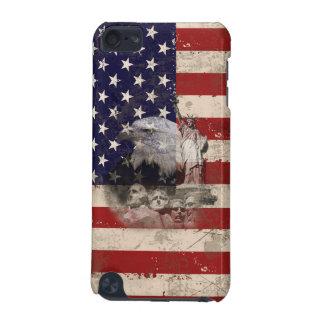 Capa Para iPod Touch 5G Bandeira e símbolos dos Estados Unidos ID155