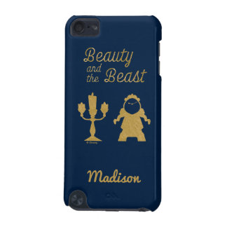 Capa Para iPod Touch 5G Belle | Lumiere e Cogsworth