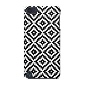 Capa Para iPod Touch 5G Bloco asteca Ptn do símbolo preto & branco mim