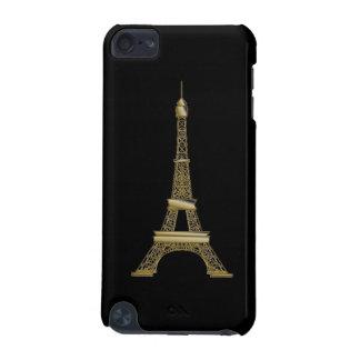 Capa Para iPod Touch 5G Caixa preta francesa do ipod touch 5g da torre