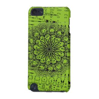 Capa Para iPod Touch 5G Caixa verde abstrata brilhante