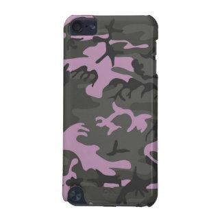 Capa Para iPod Touch 5G Camo cor-de-rosa