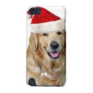 Capa Para iPod Touch 5G Cão-animal de estimação do cão-papai noel de claus