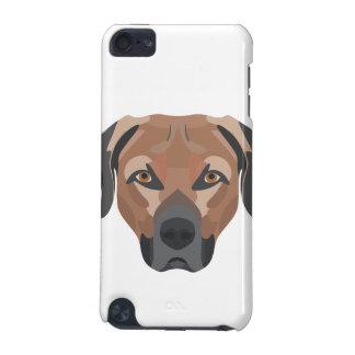 Capa Para iPod Touch 5G Cão Brown Labrador da ilustração