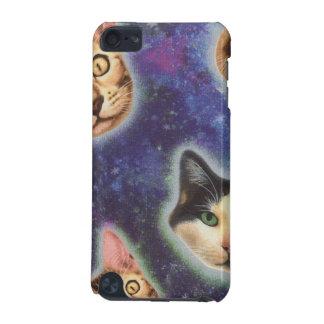 Capa Para iPod Touch 5G cara do gato - gato - gatos engraçados - espaço do