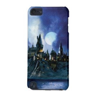 Capa Para iPod Touch 5G Castelo | Hogwarts de Harry Potter na noite