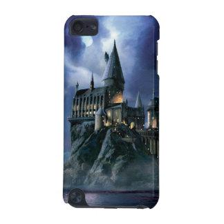 Capa Para iPod Touch 5G Castelo   Hogwarts enluarada de Harry Potter