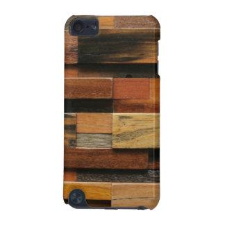 Capa Para iPod Touch 5G Colagem de madeira Textured multicolorido