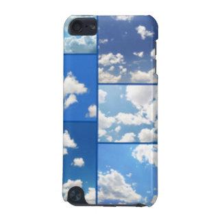 Capa Para iPod Touch 5G Colagem dos céus azuis & das nuvens do branco