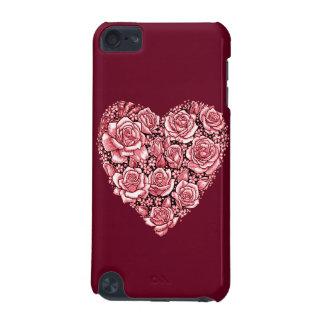 Capa Para iPod Touch 5G Coração dos rosas