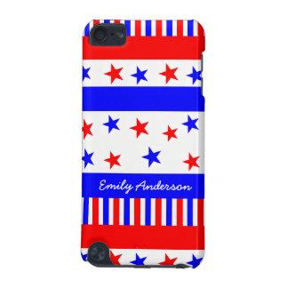 Capa Para iPod Touch 5G Cores da bandeira dos EUA do teste padrão de