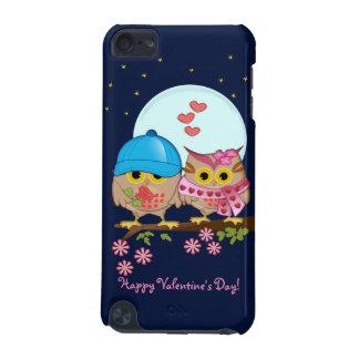 Capa Para iPod Touch 5G Corujas da lua azul no amor & no costume