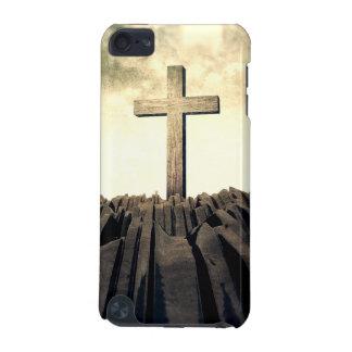 Capa Para iPod Touch 5G Cruz cristã na montanha