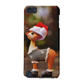 Capa Para iPod Touch 5G Decorações da rena - rena do Natal