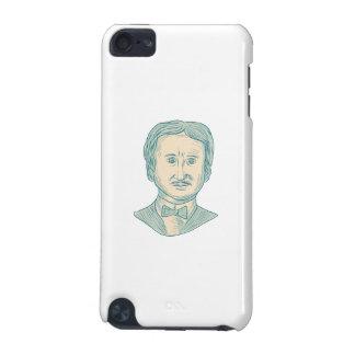 Capa Para iPod Touch 5G Desenho do escritor de Edgar Allan Poe